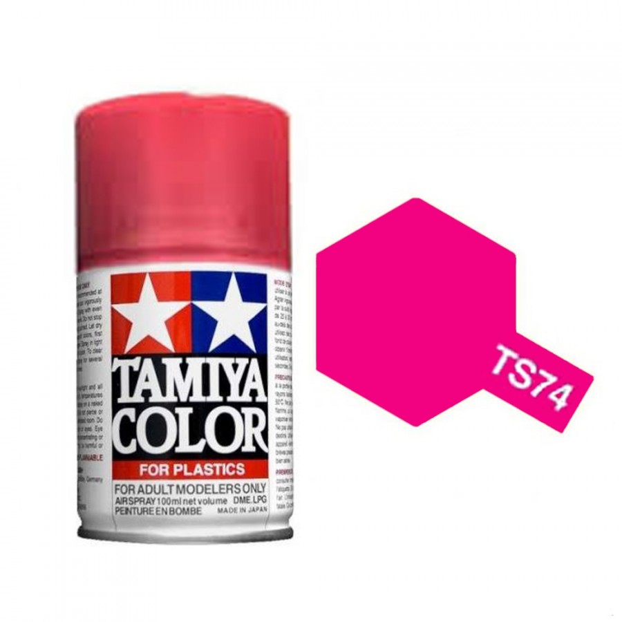 Rouge translucide Spray de 100ml-TAMIYA TS74