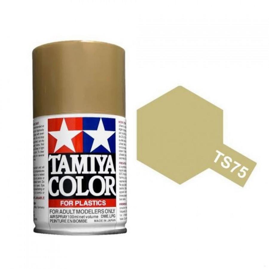 Champagne métallisé Brillant Spray de 100ml-TAMIYA TS75