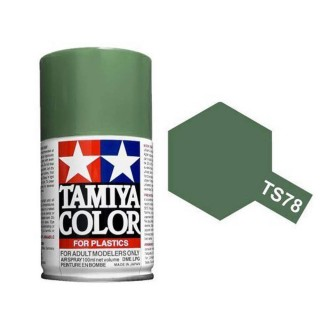 Gris moyen Mat Spray de 100ml-TAMIYA TS78