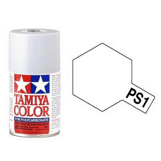 Blanc Polycarbonate Spray de 100ml-TAMIYA PS1
