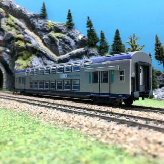 Voiture VB2N CL2 TER SNCF-HO 1/87-VITRAINS 3165