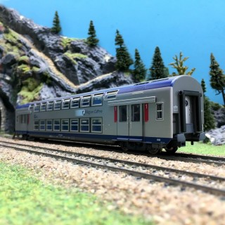 Voiture VB2N CL1 TER SNCF-HO 1/87-VITRAINS 3164