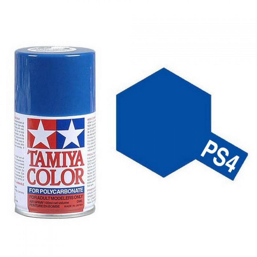 Bleu Polycarbonate Spray de 100ml-TAMIYA PS4