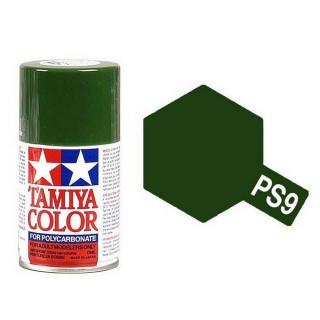 Vert Foncé Polycarbonate Spray de 100ml-TAMIYA PS9