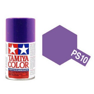 Violet Polycarbonate Spray de 100ml-TAMIYA PS10