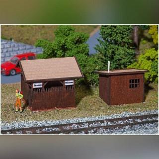 WC extérieurs-HO 1/87-FALLER 130182