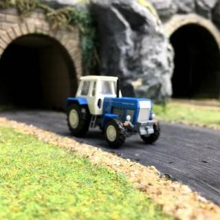 Tracteur ZT 303-D Bleu / Blanc-HO 1/87-BUSCH 42847