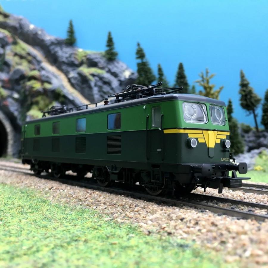 Locomotive 120 002 SNCB EpIII-HO 1/87-PIKO 96540