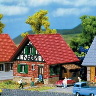 Maison en briques avec appenti-Z 1/220-FALLER 282764