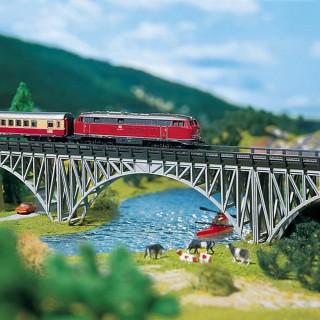 Pont porteur type métallique-Z 1/220-FALLER 282915
