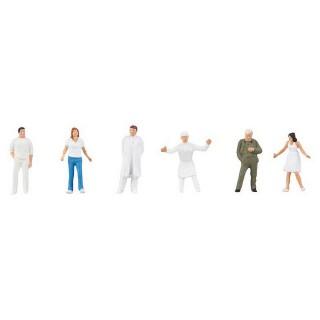 Personnel d'Hopital / Clinique-HO 1/87-FALLER 150946