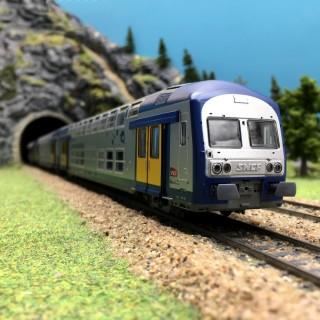 Coffret 3 éléments NORD Pas de Calais SNCF-HO 1/87-VITRAINS 1105