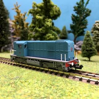 Locomotive Diesel 2400 Ep III NS-N 1/160-PIKO 40420
