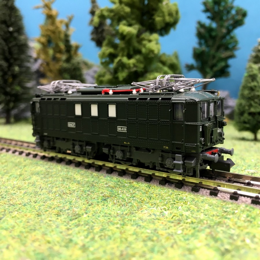 Locomotive BB4119 Toulouse SNCF-N 1/160-HOBBY66 10013