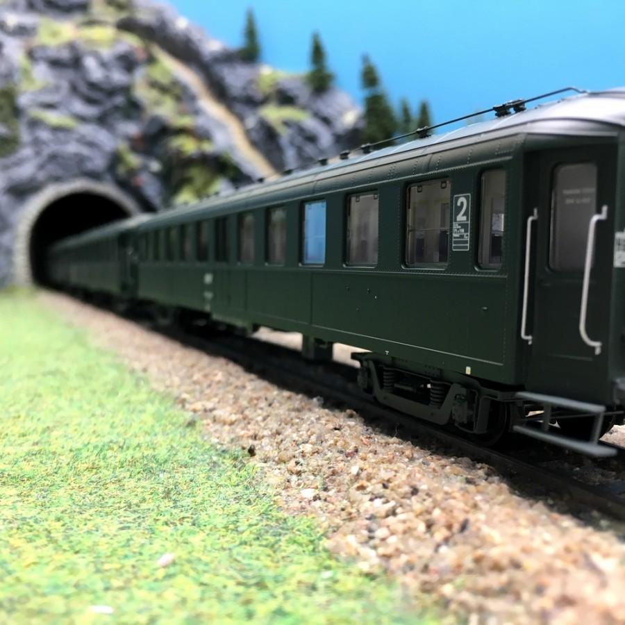 """Coffret 3 voitures """"Bacalan"""" SNCF Ep IV-V-HO 1/87-REE VB238"""