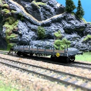 Wagon plat TP Ranchers PLM Ep II-HO 1/87-REE WB510