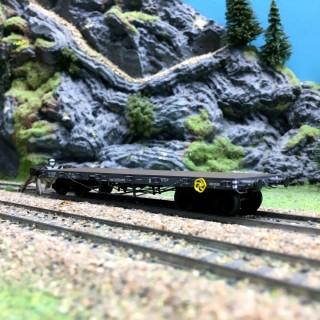 Wagon plat TP NORD Ep II-HO 1/87-REE WB508