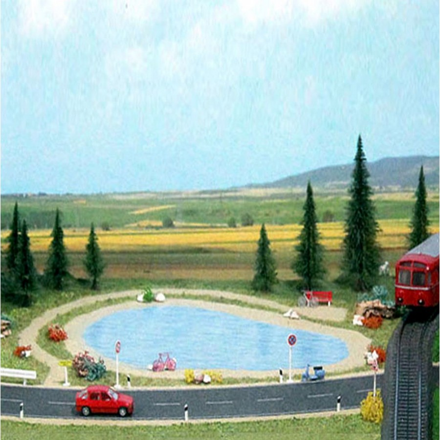 Set de démarrage diorama-HO-BUSCH 7191c