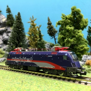 Locomotive BR1116 195 ÖBB NightJet-N 1/160-HOBBYTRAIN H2783