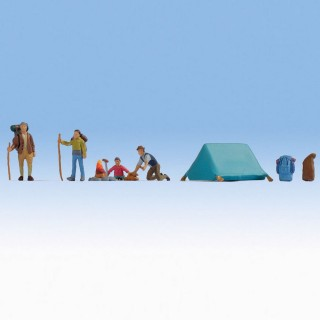 Personnages en camping-N 1/160-NOCH 36876
