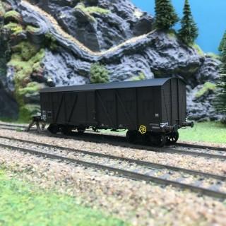 Wagon couvert SNCF Ep III-HO 1/87-REE WB523