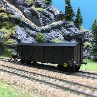 Wagon couvert SNCF Ep III-HO 1/87-REE WB524