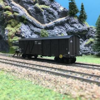 Wagon couvert SNCF Kwy Ep III-HO 1/87-REE WB522