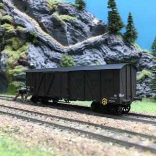 Wagon couvert SNCF Kwy Ep III-HO 1/87-REE WB521