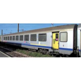 Set de 2 corail TER Bourgogne 1/2 CL Sncf ep IV -HO 1/87- PIKO 58654