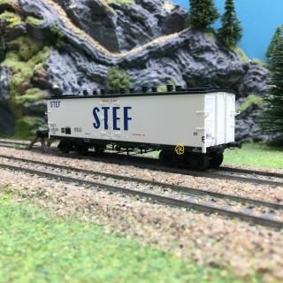Wagon Frigo TP Orig. Trappes Aer. SNCF Ep III-HO 1/87-REE WB537