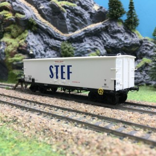 Wagon Frigo TP Orig. Trappes SNCF Ep III-HO 1/87-REE WB536