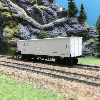 Wagon Frigo TP Orig. Trappes DR USSR Zone Ep III-HO 1/87-REE WB540