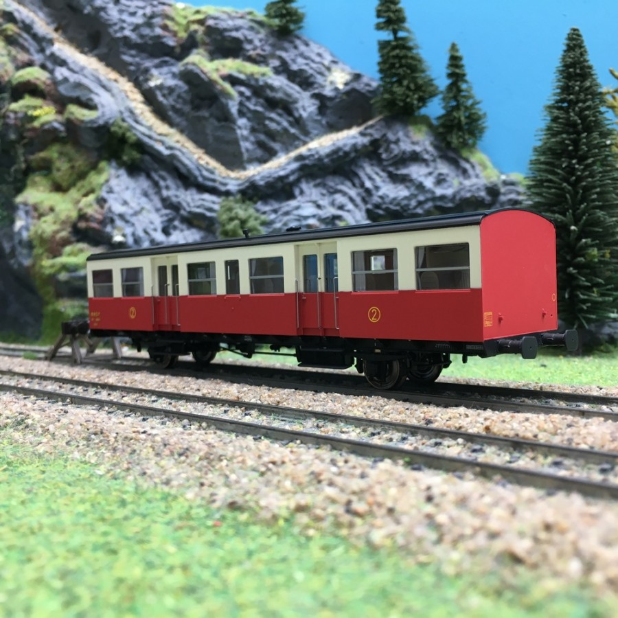 Voiture S-O CL2 Autorail SNCF Ep III-HO 1/87-REE VB157