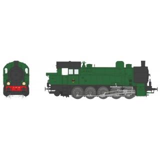 Locomotive 5 AT 29 PLM Ex T-16 ép II digital son -HO 1/87-REE MBE005