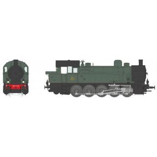 Locomotive 050 TA 28 Sud Est Ambérieu ép III digital son -HO 1/87-REE MBE006