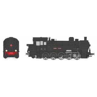 Locomotive 5.505 Nord Ex T-16 ép II digital son -HO 1/87-REE MBE007