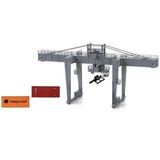 Terminal-Pont Grue-pour containers-HO 1/87-LIMA HL8000