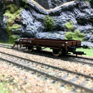 Wagon plat ÖBB-HO 1/87-FLEISCHMANN ADT435563