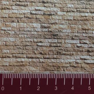 Plaque cartonnée mur de pierres N 1/160-FALLER 222563