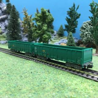 2 Tombereaux RENFE Ep V-N 1/160-ARNOLD HN6412