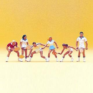 Joueurs de Tennis-HO-1/87-PREISER 10078