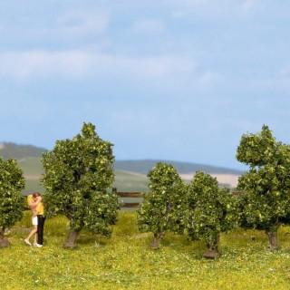 5 arbustes verts 3/4 cm de haut-HO 1/87-NOCH 25410