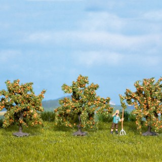3 Orangers 4 cm de haut-HO-NOCH 25114