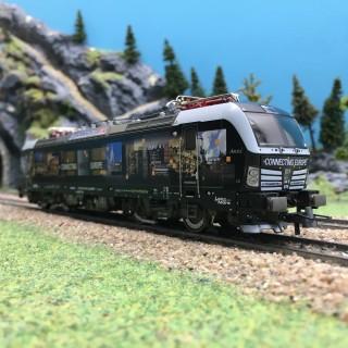Locomotive électrique série 193 875-2 MRCE Ep VI-HO 1/87-ROCO 73986