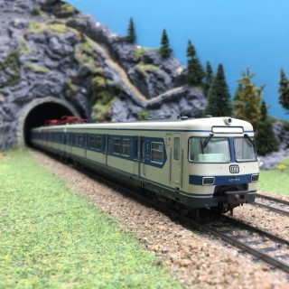 Coffret 3 éléments S-Bahn BR420 DB Ep IV digital son-HO 1/87-TRIX 22655