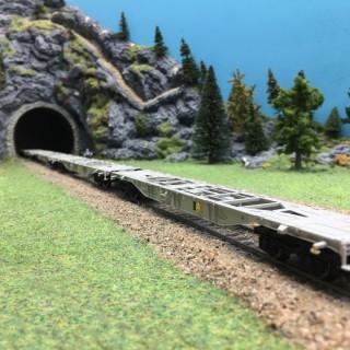 Set de 4 wagons plats KLV Ep VI-HO 1/87-MARKLIN 47067