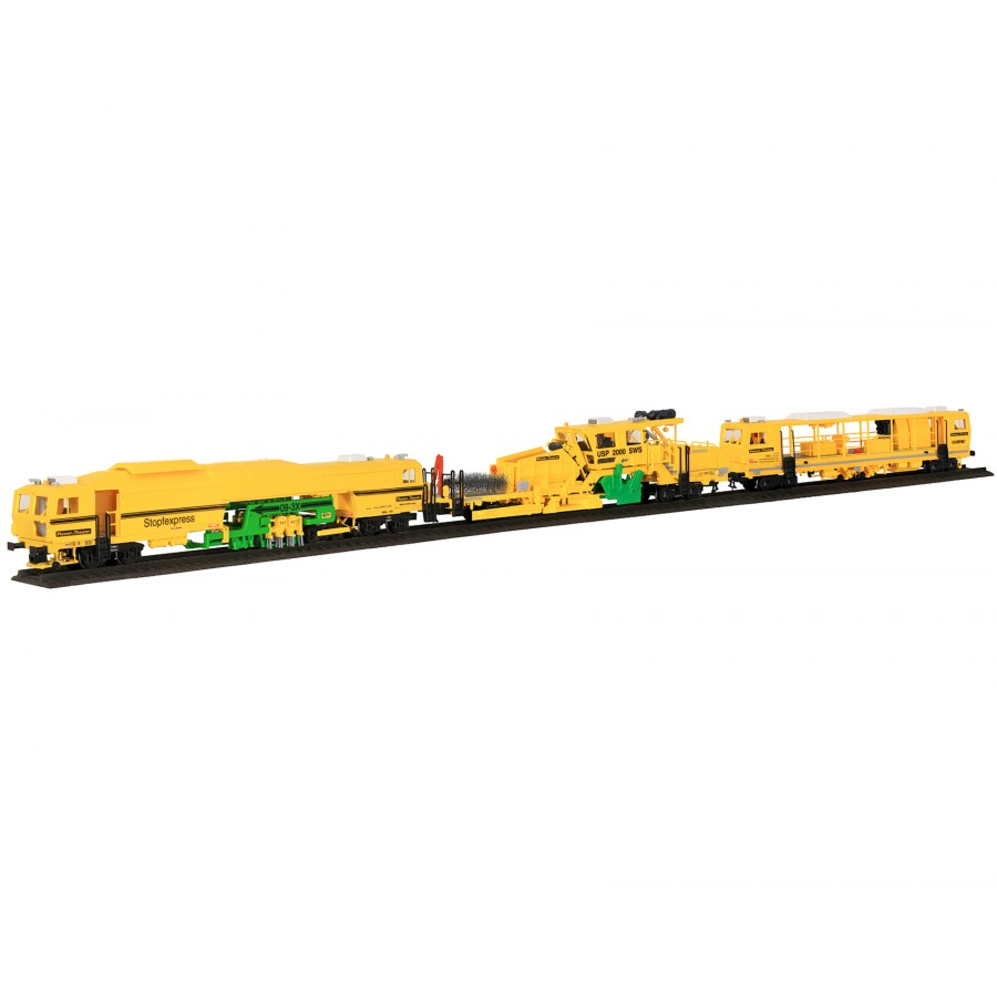 Ensemble de trains de travaux-HO-1/87-KIBRI 26053