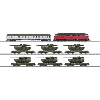 Coffret convoi chargement tanks digitale son 3R-HO-1/87-MARKLIN 26606