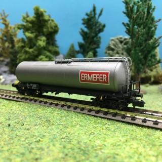 Wagon citerne ERMEFER SNCF Ep IV-N 1/160-BRAWA 67252