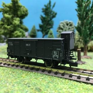 Wagon couvert KUWF Ep II-N 1/160-BRAWA 67464